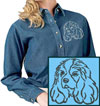 Cavalier Spaniel Embroidered Patch for Cavalier Spaniel Lovers - Click to Enlarge