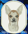 Chihuahua BT3108 Embroidered Patch for Chihuahua Lovers - Click to Enlarge