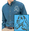 Cocker Spaniel Embroidered Patch for Cocker Spaniel Lovers - Click to Enlarge