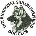 International Shiloh Shepherd Dog Club Logo Round - Click to Enlarge