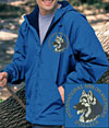 International Shiloh Shepherd Dog Club Logo Embroidered Jacket #7 - Click to Enlarge