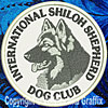 Embroidered Patch for Shiloh Shepherd Lovers - Click to Enlarge