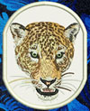 Jaguar High Definition Portrait #1 Embroidered Patch for Jaguar Lovers - Click to Enlarge