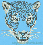 Jaguar -Leopard Portrait #1- Click to Enlarge - Dimensions: (500X501) File Size: 55KB